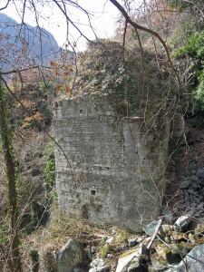 8. Ponte sulla strada romana tra Balmas e Saint-Germain, Montjovet.