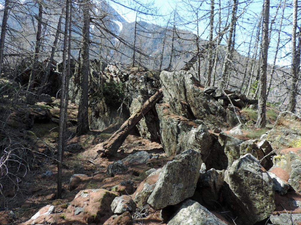 Fronte di cava