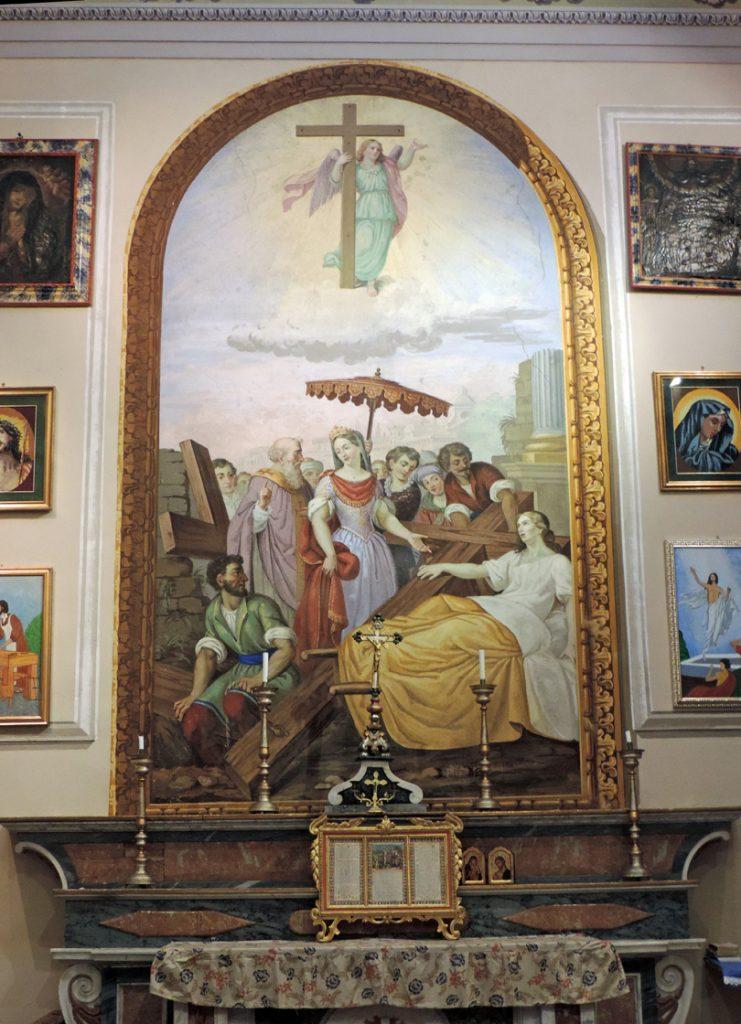 Tavola altare laterale