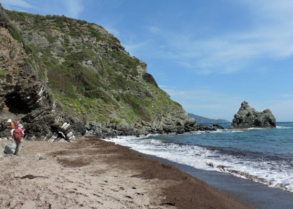 09a. La spiaggia di Capo Norsi.