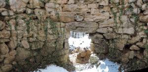 12. Uno dei forni di Salé visto dall'interno, con la bocca di alimentazione.