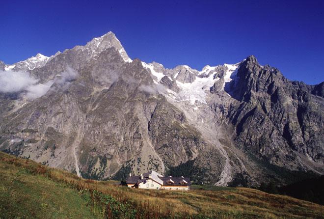 Il massiccio del Monte Bianco, zona di recente attività geodinamica