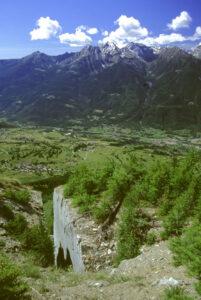 Sorprese paesaggistiche nelle zone di antiche cave