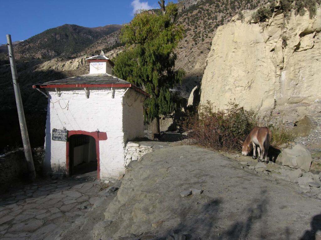 07. La disseminazione sul territorio di edifici e simboli religiosi riflette esattamente la situazione alpina dalla controriforma in poi.