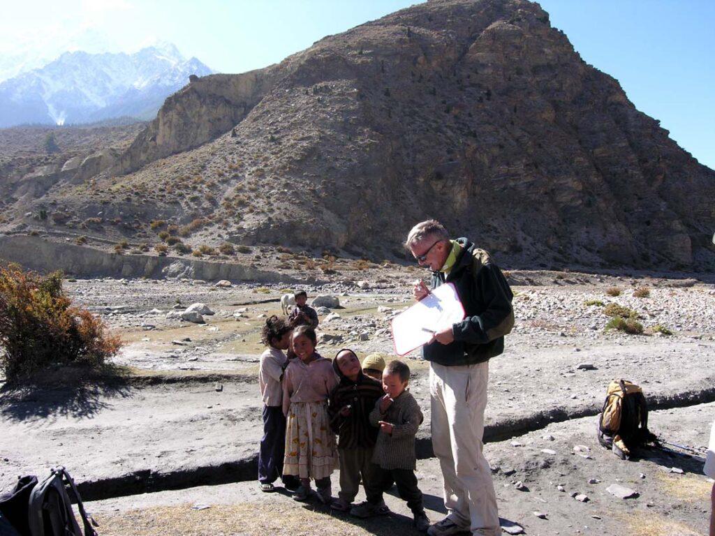 10. Il pubblico locale è assai interessato alla interpretazione geologica del paesaggio...