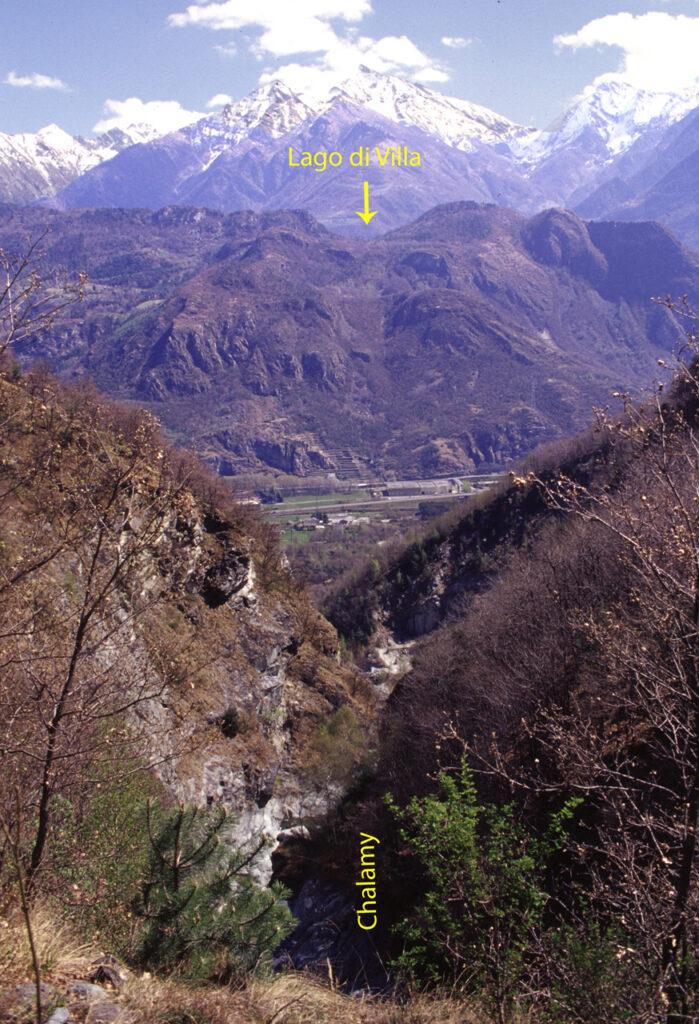 Un sistema complesso regola i rapporti del Lac de Villaz con la sua presumibile fonte di alimentazione, l'acqua del Parco del Mont Avic.